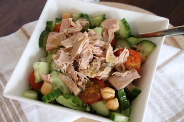 salade pour lunch au bureau
