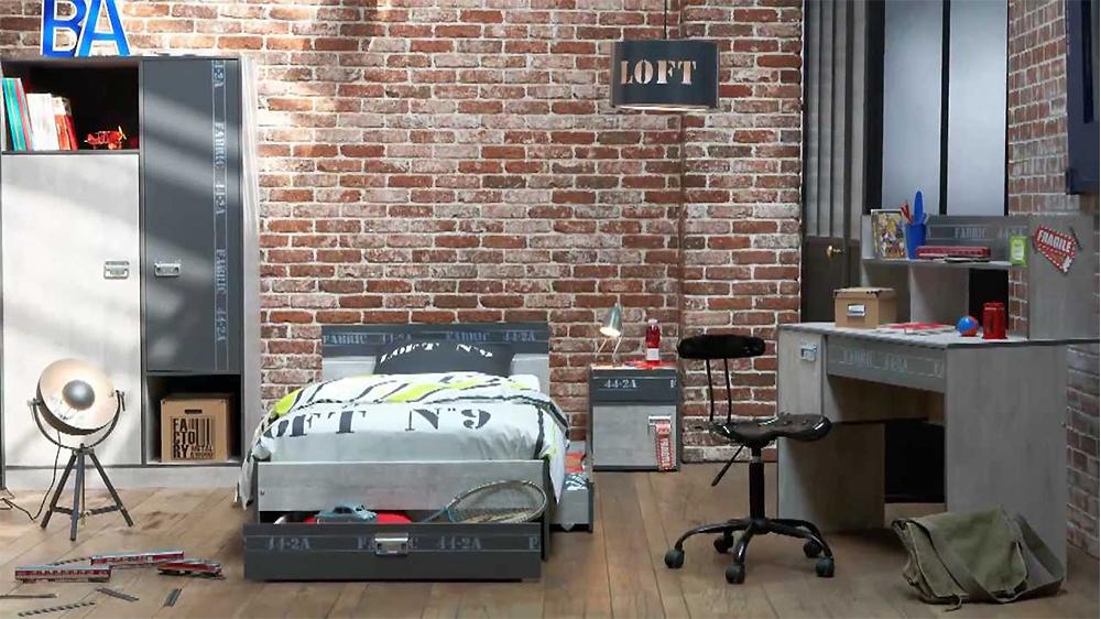chambre d 39 ado comment bien d corer celle de votre enfant. Black Bedroom Furniture Sets. Home Design Ideas