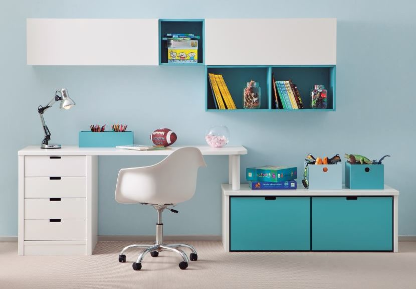 comment bien choisir le mobilier bureau enfant id al pour. Black Bedroom Furniture Sets. Home Design Ideas